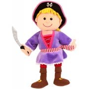 Tellatale Pirate Girl Hand Puppet