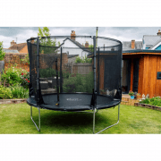 Spacezone 2 Evolution Trampoline with Telescopic Enclosure**